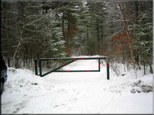 Road access gates bing images